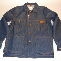 4Q×4STAR MAX SCHAAF CHORE COAT【4Q CONDITIONING】RAW INDIGO