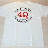 4Q LOGO POCKET TEE【4Q CONDITIONING】WHITE