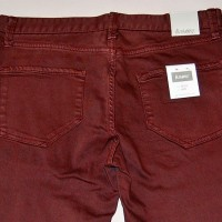 ALAMEDA SLIM DENIM【ALTAMONT】BURGUNDY