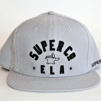 CONERSTONE SNAP BACK BALL CAP 【SUPER Co.】GREY