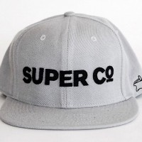ORIGINAL SNAP BACK BALL CAP 【SUPER Co.】GREY