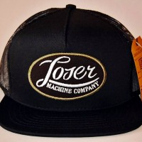 ALPHA CAP【LOSER MACHINE】BLACK