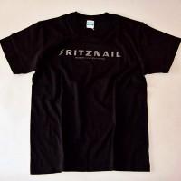 2015オリジナルS/S TEE SHIRTS【RITZNAIL】BLACK