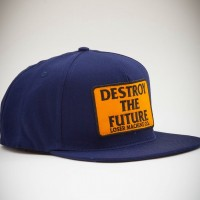 DTF Snapback【LOSER MACHINE】Navy