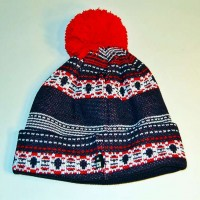 FAIR ISLE BEANIE【FOURSTAR】MULTI COLOR