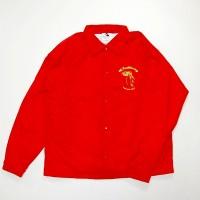 "4Q ""THROTTLE""コーチジャケット【4Q CONDITIONING】RED"