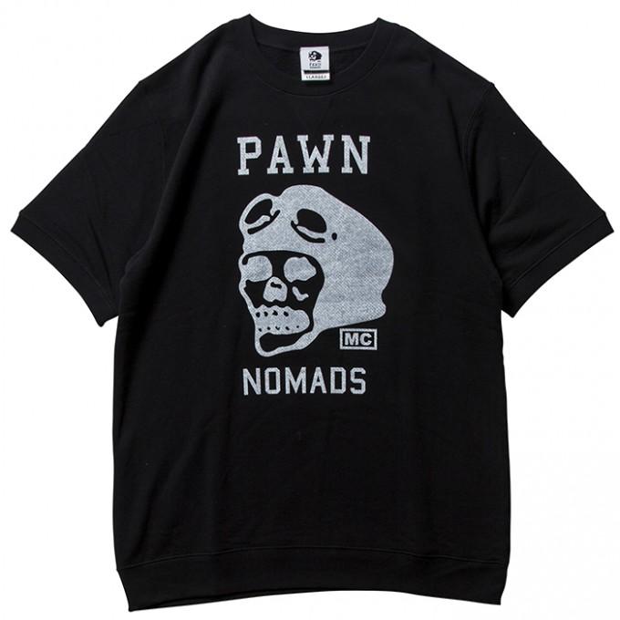 PAWN-LogoSSCrewNeck-BLK