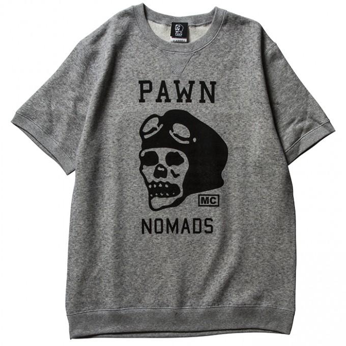 PAWN-LogoSSCrewNeck-GRY