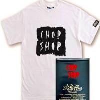 CHOP SHOP S/S TEE【RITZNAIL】WHITE