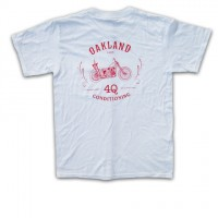 """MOTORCYCLE"" S/S POCKET Tシャツ【4Q CONDITIONING】WHITE"