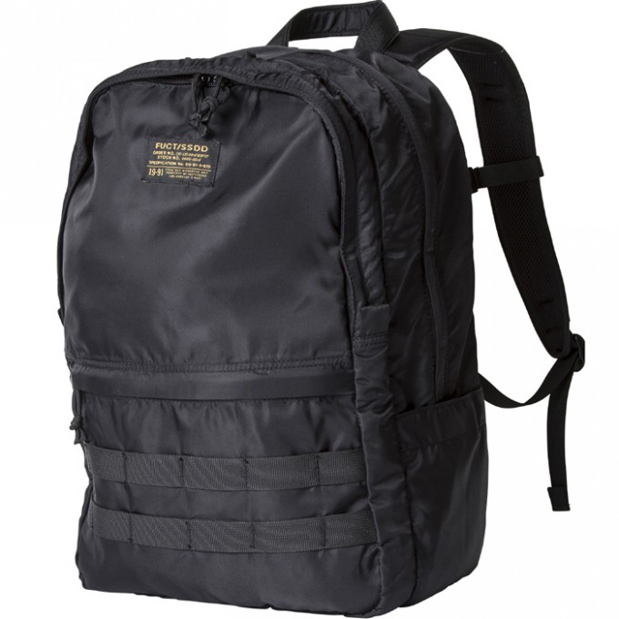 FUCTSSDD-MA1BACKPACK8401-BLK