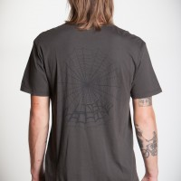 WIDOW MAKER OLD TIME POCKET TEES【LOSER MACHINE】GRAPHITE