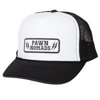PAWN THUNDER LOGO CAP 92906(メッシュキャップ)  【PAWN】WHITE
