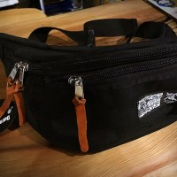 W-NAME Waist Bag【BRINGITS】BLACK