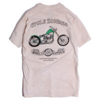 CycleZombies / サイクルゾンビーズ SERVICE Garage Made Black S/S T-SHIRT