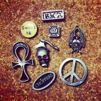 Biker Pins 【HWY】USED