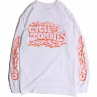 CycleZombies / サイクルゾンビーズ BACKFIRE L/S T-SHIRT