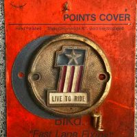 NOS POINTS COVER ONE STAR【VINTAGE PARTS】for SHOVEL HEAD