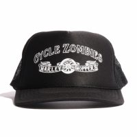 サイクルゾンビーズ BLOOD BROTHER Standard Trucker Hat【CycleZombies】BLACK