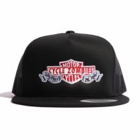 サイクルゾンビーズ  DIE FREE Twill Trucker Hat【CycleZombies】BLACK