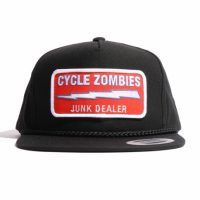 サイクルゾンビーズ JUNK DEALER Snapback Hat【CycleZombies】BLACK