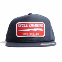 サイクルゾンビーズ JUNK DEALER Snapback Hat【CycleZombies】NAVY