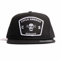 サイクルゾンビーズ SMILE Snapback Hat【CycleZombies】BLACK