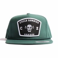 サイクルゾンビーズ SMILE Snapback Hat【CycleZombies】GREEN