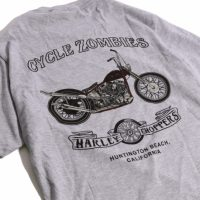 サイクルゾンビーズ BLOOD BROTHER S/S T-SHIRT【CycleZombies】HEATHER