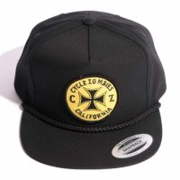 サイクルゾンビーズ CLOCK WORK Snapback Hat【CycleZombies】BLACK