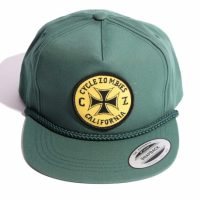 サイクルゾンビーズ CLOCK WORK Snapback Hat【CycleZombies】GREEN