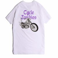 サイクルゾンビーズ COBRA S/S T-SHIRT【CycleZombies】WHITE