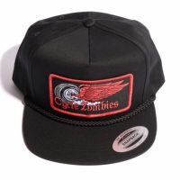 サイクルゾンビーズ FINISH LINE Snapback Hat【CycleZombies】BLACK