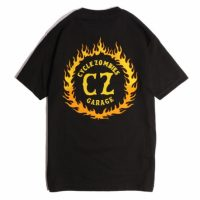 サイクルゾンビーズ FLAMEBOY S/S T-SHIRT【CycleZombies】BLACK