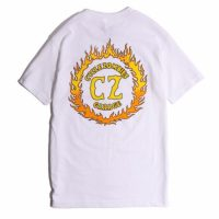 サイクルゾンビーズ FLAMEBOY S/S T-SHIRT【CycleZombies】WHITE