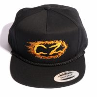 サイクルゾンビーズ FLAMMER Snapback Hat【CycleZombies】BLACK