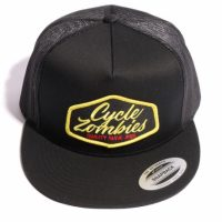 サイクルゾンビーズ QUALITY Trucker Hat【CycleZombies】BLACK