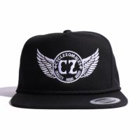 サイクルゾンビーズ OFFICER Snapback Hat【CycleZombies】BLACK