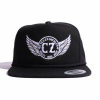 サイクルゾンビーズ OFFICER Snapback Hat【CycleZombies】BLACK