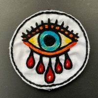PATCH-H【HWY × LJN STUDIO 】CUSTOM HAND EMBROIDERY