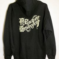 OG LOGO ZIP UP HOODIE 【A-Rahoo Motorcycles】BLACK
