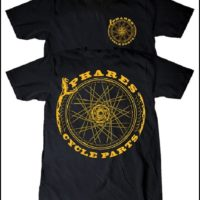 PHARES CYCLE PARTS ENDLESS CYCLE S/S TEE BLACK